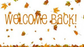 Image result for welcome back (autumn)